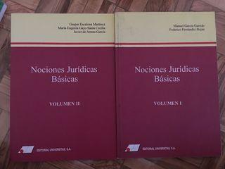 Nociones juridicas basicas