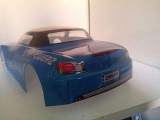 Carroceria coche rc drift 1:10