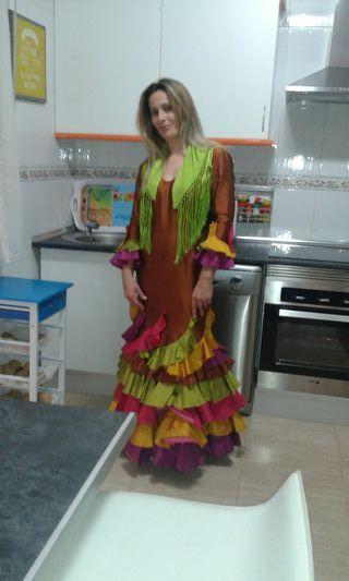 Traje flamenca talla 42
