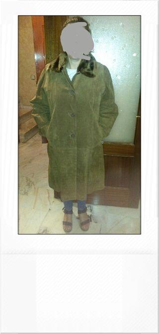 abrigo mujer 3/4 chaqueton talla 44
