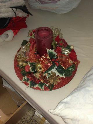 centro mesa de navidad