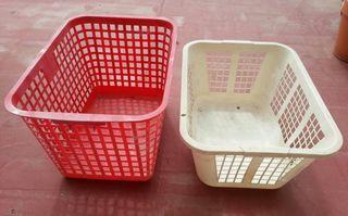 Cesta plastico ordenación cajas cofre baúl