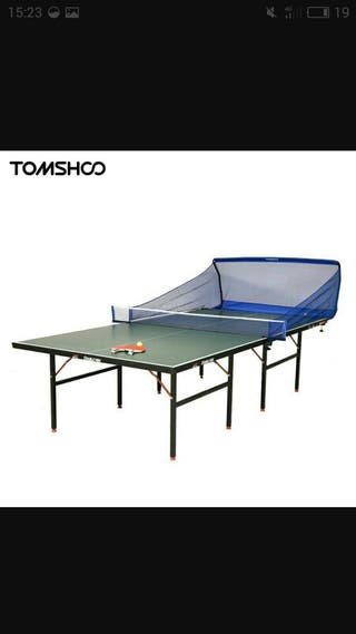 Ping pong lanzabolas