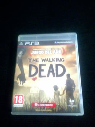 Juego ps3 THE WALKING DEAD