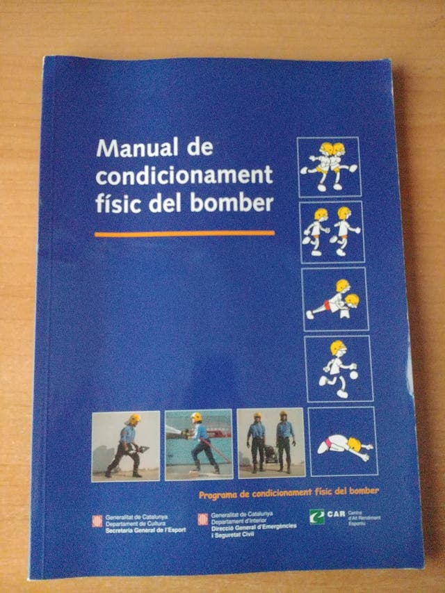 Manual de condicionament físic del bomber