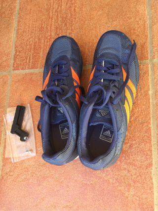 Zapatillas de clavos para pista