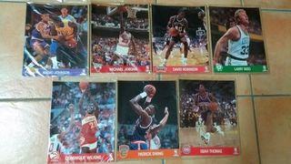 Lote de 7 action photos de la NBA