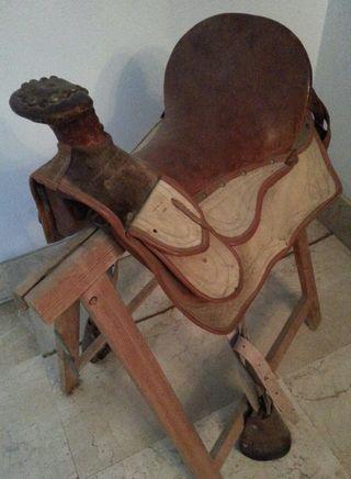 Montura/silla caballo western cowboy caballo