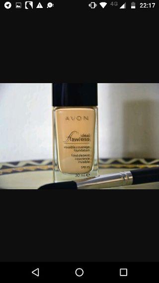 base maquillaje líquida