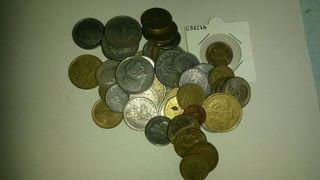 Lote de monedas Griegas