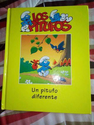 Libro infantil Os Pitufos