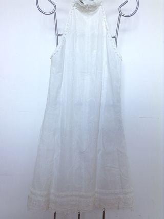 Vestido blanco exclusivo
