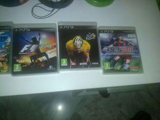 pack juegos ps3 + play 3
