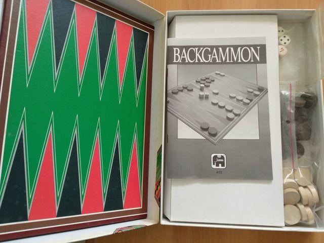 Juego De Mesa Backgammon De 1990 De Segunda Mano Por 10 En Las