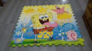 alfombra puzle infantil