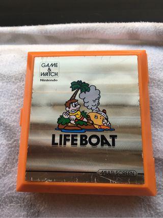 Game watch life boat nintendo doble pantalla