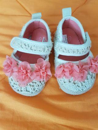 zapatos niña 0-6 meses
