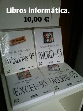 Libros informática.