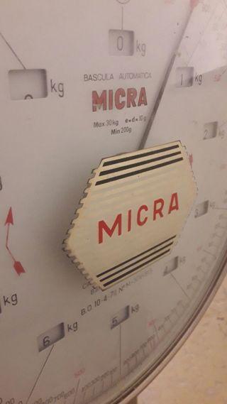 bascula automatica micra hasta 30 kg