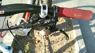 Frenos bicicleta hidráulico XT