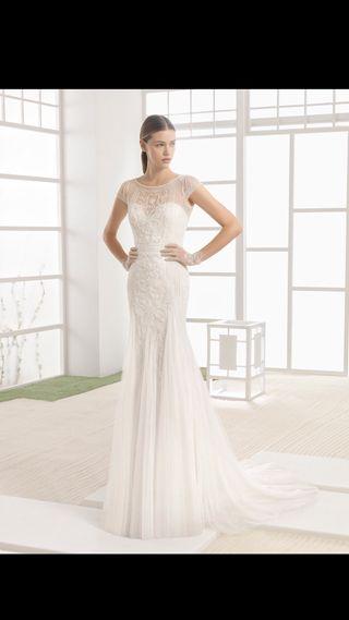 Vestido de novia Rosa Clará. Modelo WINDY