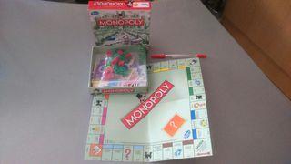 Monopoly tradicional pequeño, version de viaje