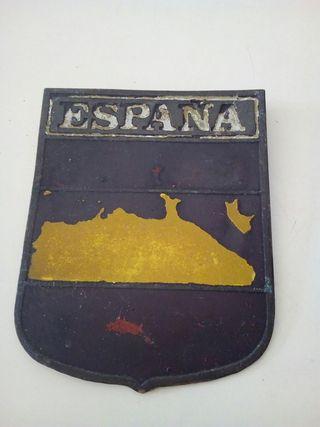 placa vintage