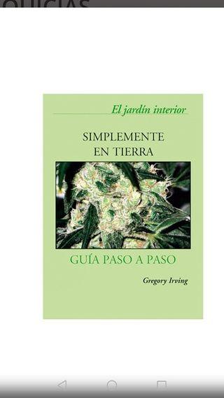Libro Simplemente en tierra grow shop