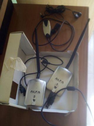 2 guanta wifi y camera y auricolares todo 30€
