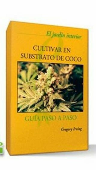 Libro cultivar en coco cultivo interior grow shop