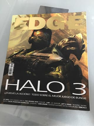Revista Edge 17 portada Halo 3