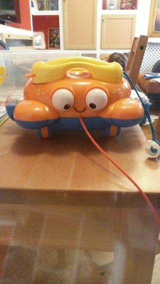 telefono juguete musical