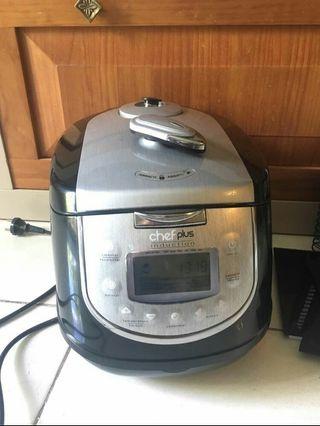 Robot cocina chef plus induction de segunda mano por 200 en moralzarzal en wallapop - Robot cocina chef o matic ...