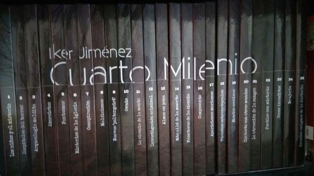COLECCIÓN LIBROS DVD CUARTO MILENIO (T3) de segunda mano por 90 € en ...