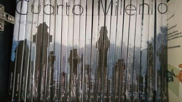 COLECCIÓN LIBROS DVD CUARTO MILENIO (T2) de segunda mano por 100 ...