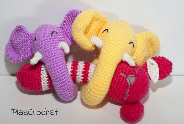 Amigurumi Elefante de Crochê Encomenda no Elo7   Elciled (10109D4)   430x640