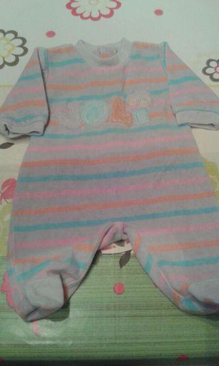 Pijama bebé 1 m