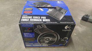 Logitech Driving Force Pro. ps2/ps3