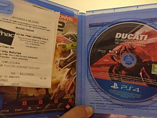 Juego ps4 Ducati