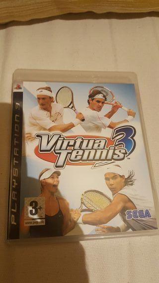 VIRTUA TENIS 3 PS3