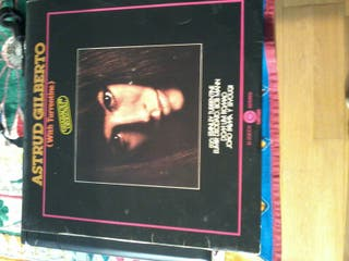 Astrud Gilberto with Turrentine. LP.
