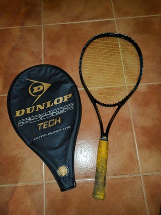 Raqueta tenis vintage Dunlop Power tech Ultra supe