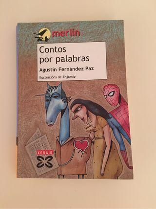 'Contos por palabras.' Libro