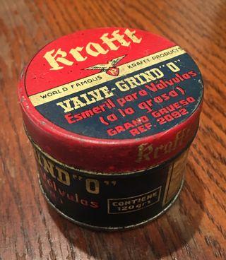 Krafft bote de esmeril para válvulas antigua.
