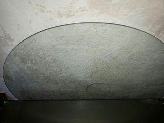 cristal mesa redonda