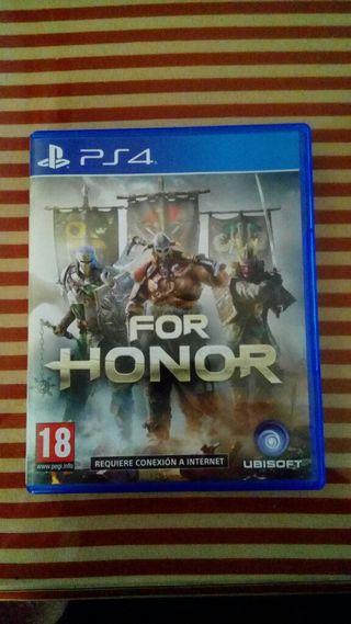 Juegos Ps4 For honor + Fifa 17