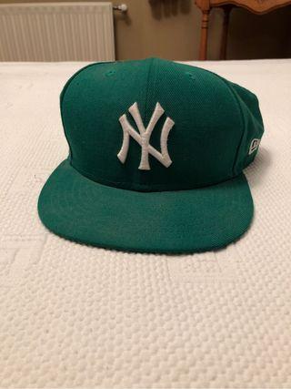 Gorra verde Yankees