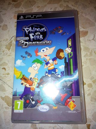 juego phineas-ferb PSP