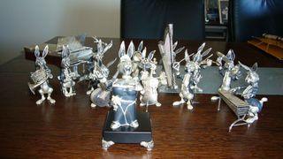 Orquesta conejos plata