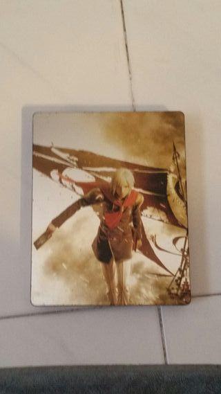 final fantasy type 0 edicion limitada caja metalic